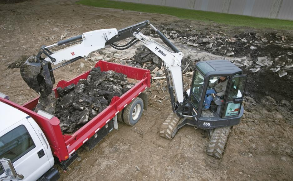 Bobcat E55 Compact Excavator - For Sale in CO and WY