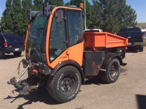 Used 2010 HOLDER TRACTORS INC. C992 HOLDER TRACTOR