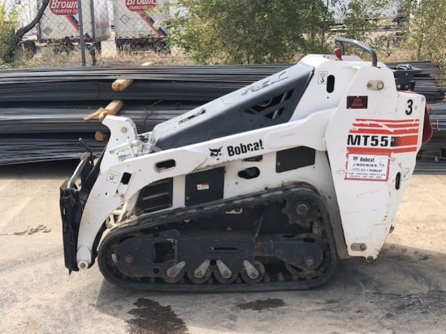 Used 2013 BOBCAT  MT55 MINI TRACK LOADER