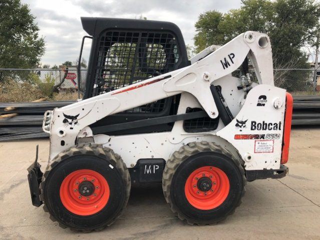 Used 2013 BOBCAT  S650  SKID-STEER LOADER