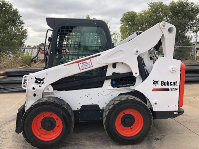 Used 2016 BOBCAT  S770  SKID-STEER LOADER