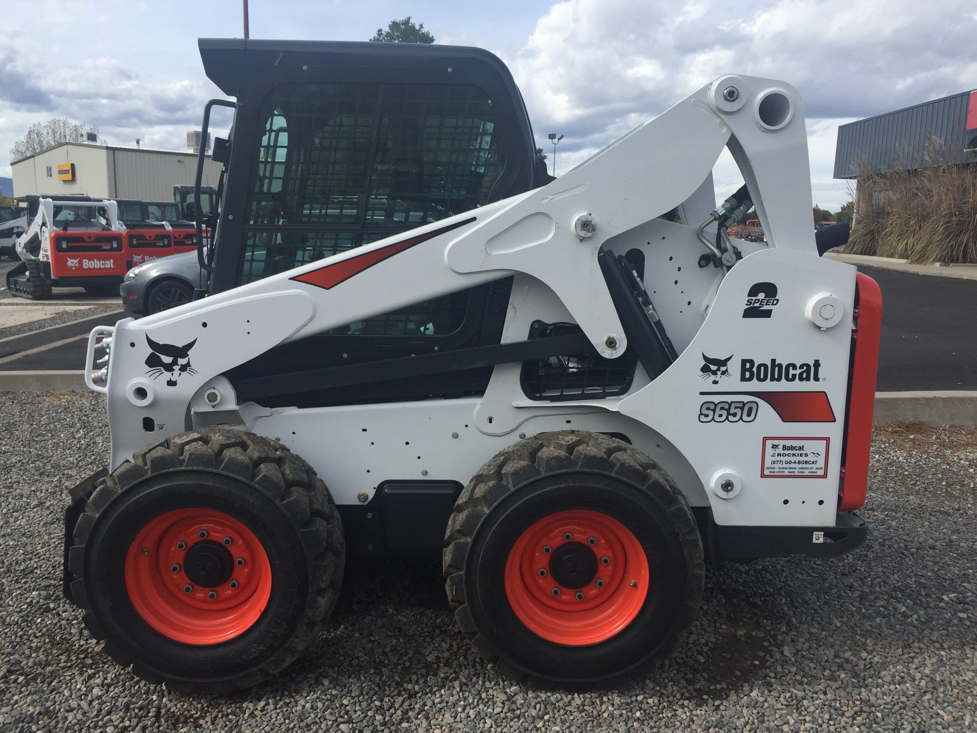 Used 2017 BOBCAT  S650  SKID-STEER LOADER