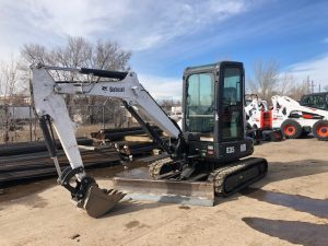 Used 2014 BOBCAT  E35  COMPACT EXCAVATOR