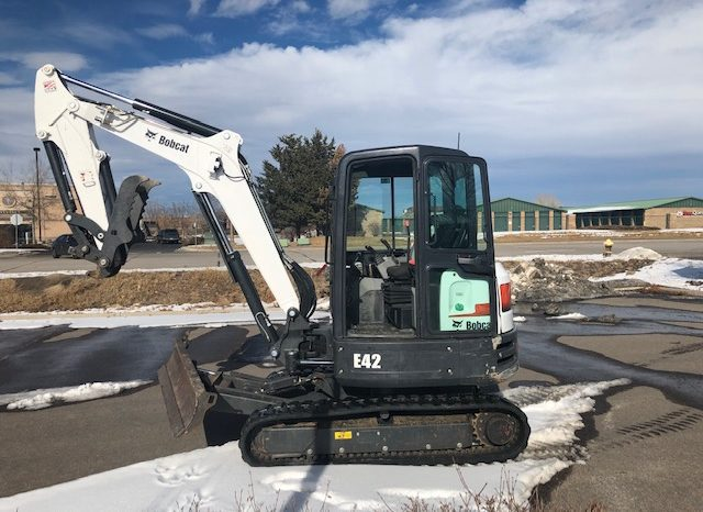 Used 2017 BOBCAT  E42  COMPACT EXCAVATOR