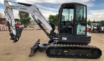 Used 2018 BOBCAT  E50  COMPACT EXCAVATOR