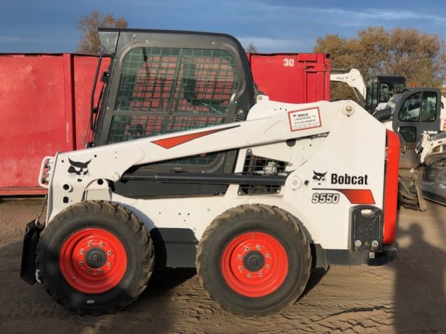 Used 2018 BOBCAT  S550  SKID-STEER LOADER
