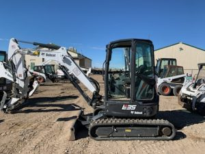 Used 2018 BOBCAT    E35  COMPACT EXCAVATOR