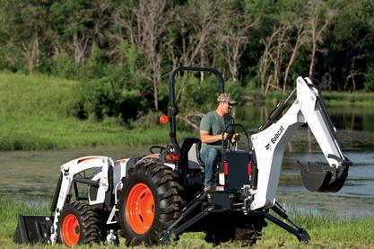 Bobcat Tractor Research