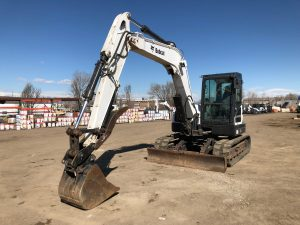 Used 2013 BOBCAT  E85  COMPACT EXCAVATOR