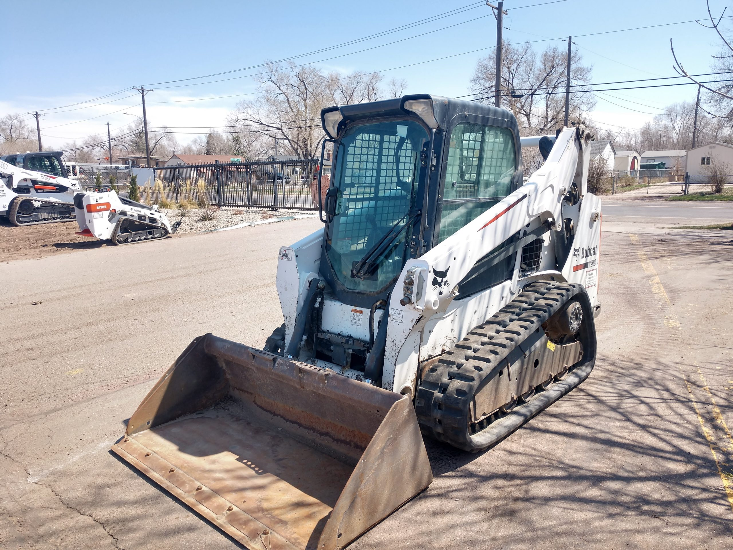 Used 2014 BOBCAT  T590  COMPACT TRACK LOADER