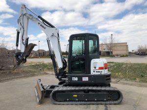 Used 2019 BOBCAT  E50  COMPACT EXCAVATOR