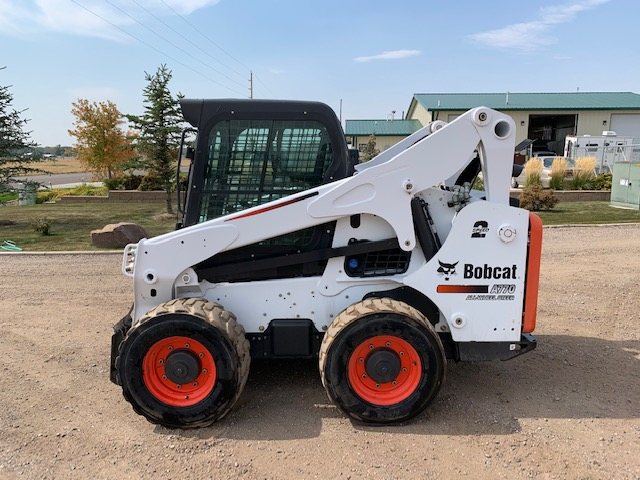 Used 2016 BOBCAT  A770  ALL WHEEL STEER LOADER