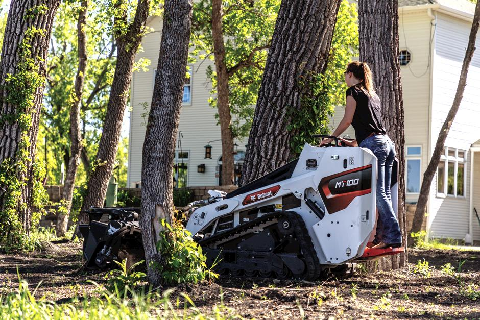 Bobcat MT100 Mini Track Loader full